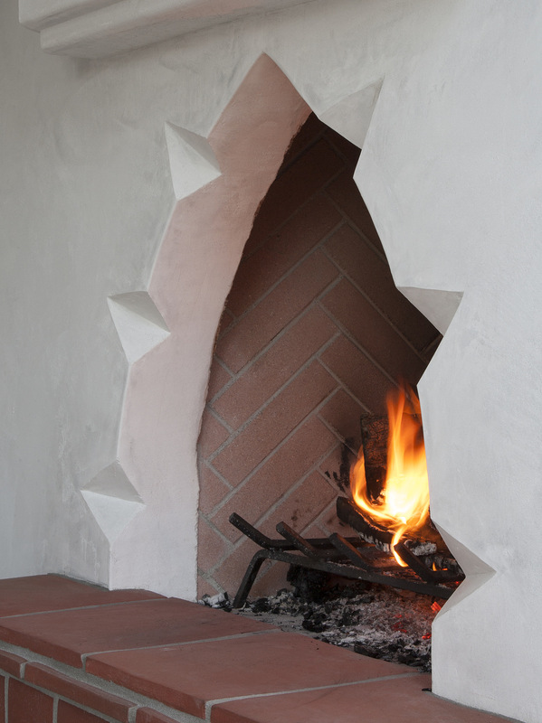 MKY Design - Fireplace detail