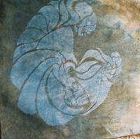 deneen mcarthur - Stencil - Mulberry paper cut