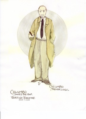 deneen mcarthur - Columbo, Columbo Takes the Rap Vertigo Theatre, Calgary