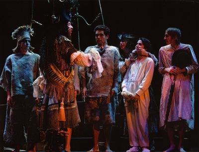 deneen mcarthur - Lost Boys textile felting Peter Pan, ATP, Calgary