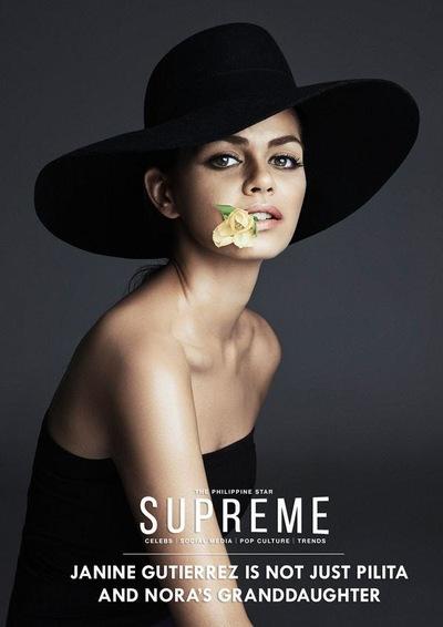 MJ BENITEZ - Janine Gutierrez, The Philippine Star Supreme (August 2014)