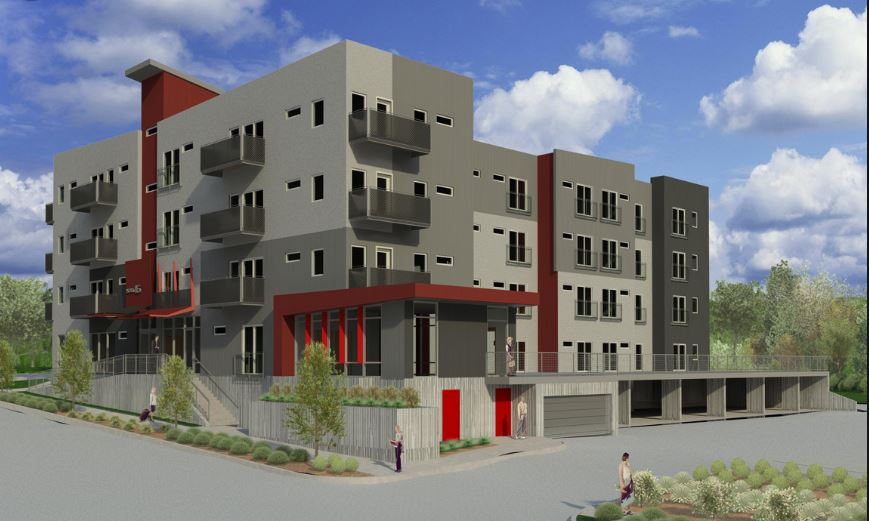 Derek Scott Price, AIA, LEED AP - Hoyt Lakewood Apartment Project, 64 Units - Hangar 41