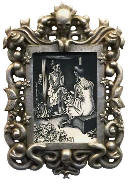 Hosanna Rubio Metals and Jewelry - Girl at the Mirror