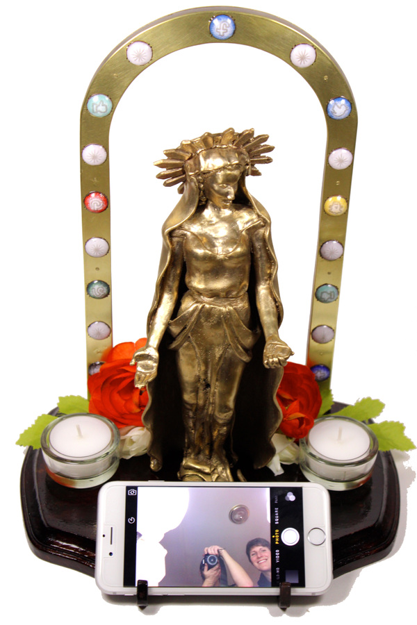 Hosanna Rubio Metals and Jewelry - Worship at the Altar of Self(ie)
