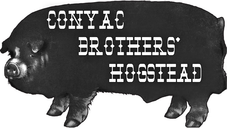 Graphic Design by Ben Hopper - Conyac Hogstead large logo