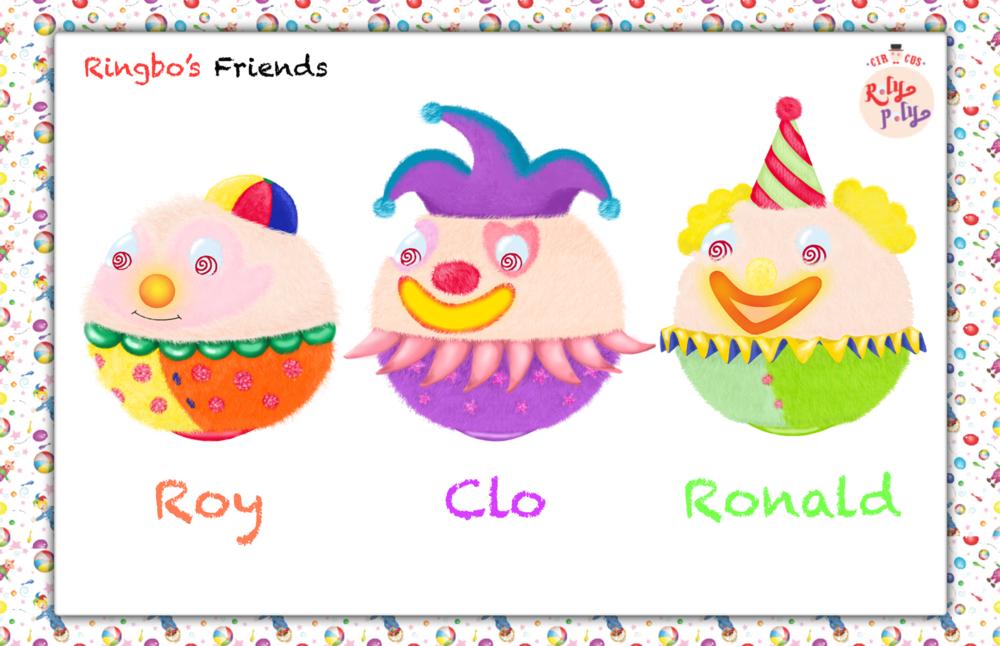 Min Kim - RolyPoly _ Roy, Clo & Ronald