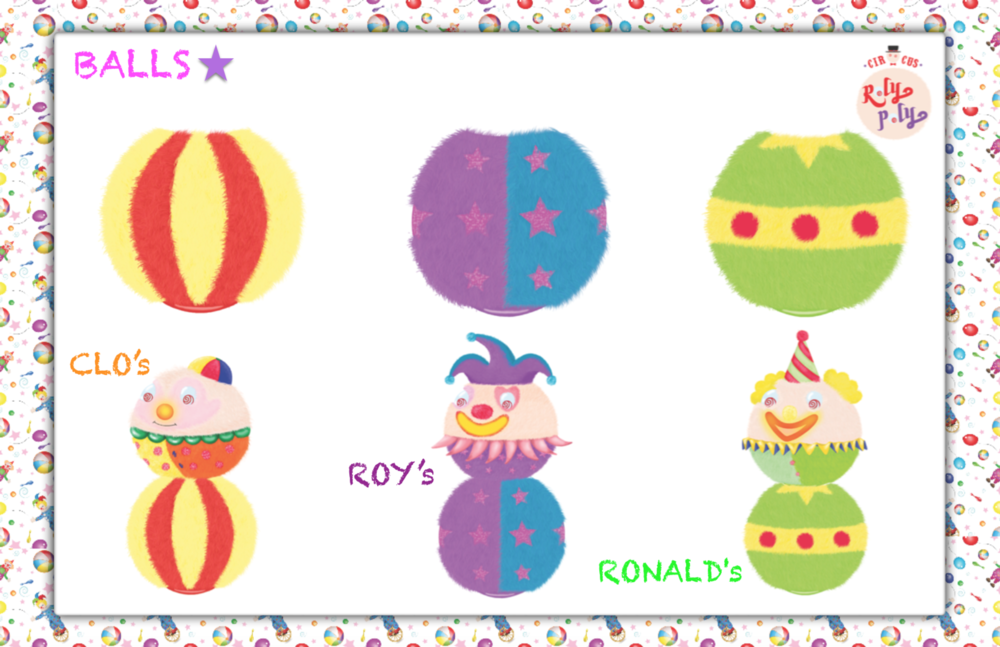 Min Kim - RolyPoly _ Roy, Clo & Ronalds balls