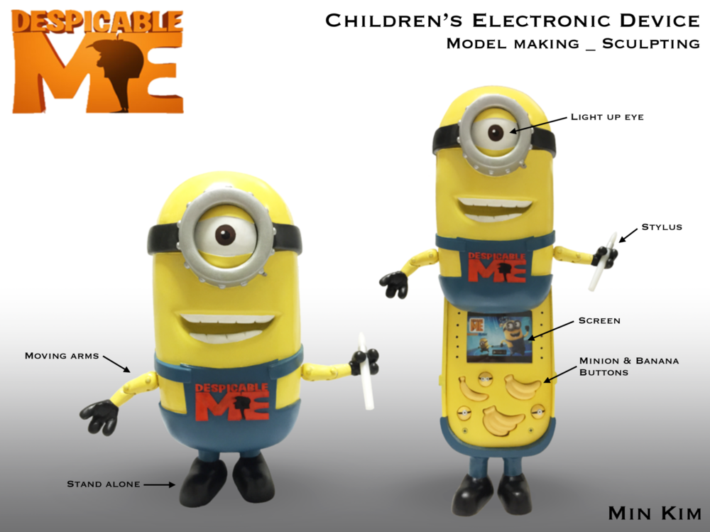 Min Kim - Childrens Electronic Device