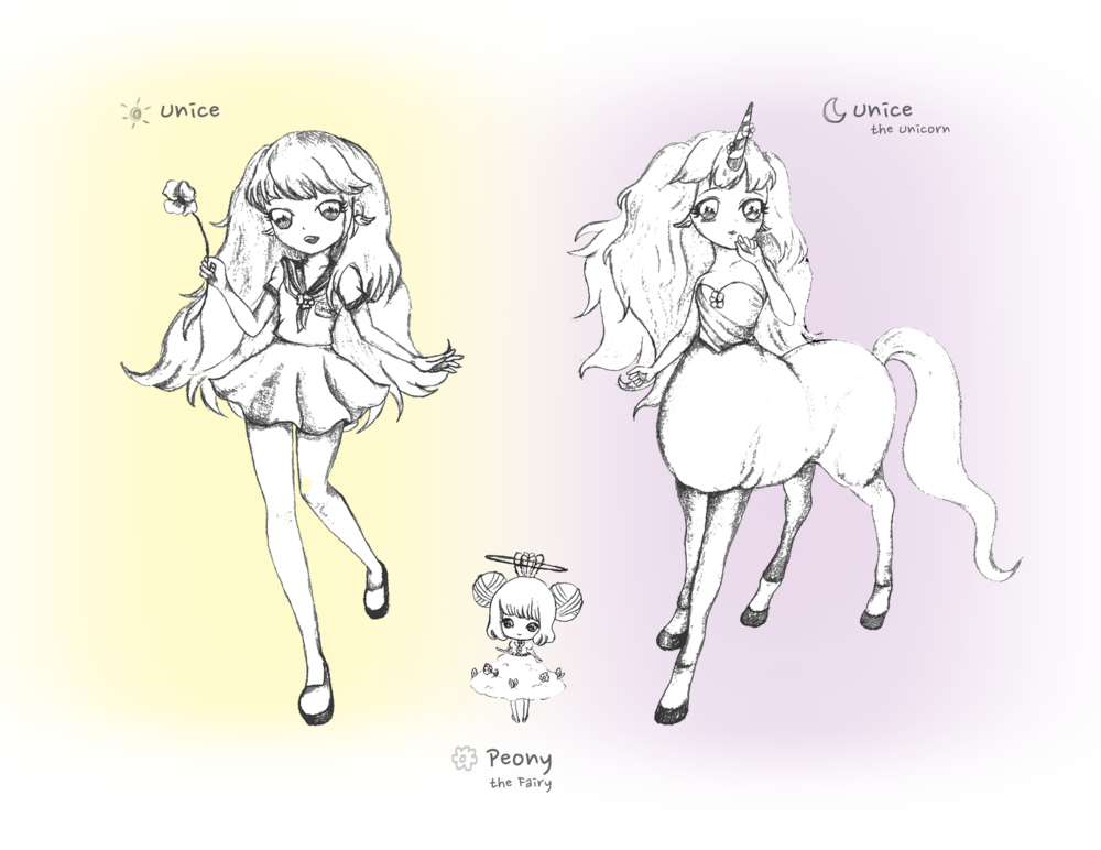 Min Kim - Unice / Unice the Unicorn Peony the Fairy