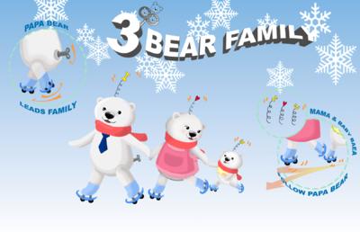 Min Kim - 3 Bear Family