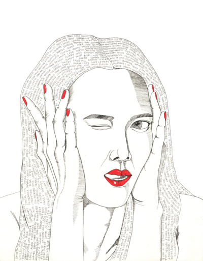 Min Kim - Self Portrait