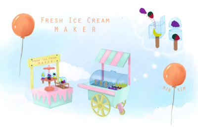 Min Kim - Fresh Ice Cream Maker