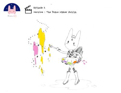 Min Kim - Dreamj (me) the Heroine Episode 2 : The Peace Maker Artist