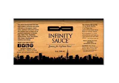 roguehousecreative - Infinity Sauce_Label