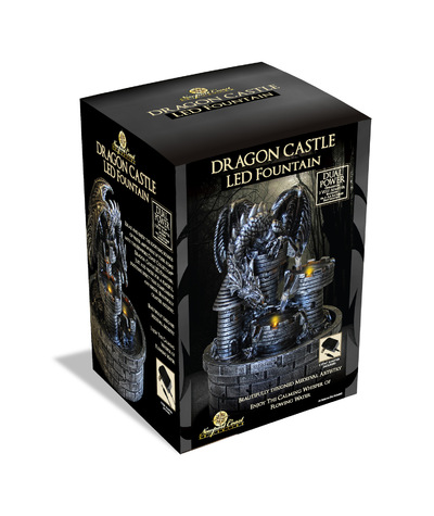 roguehousecreative - Dragon Castle LED Fountain_KMART