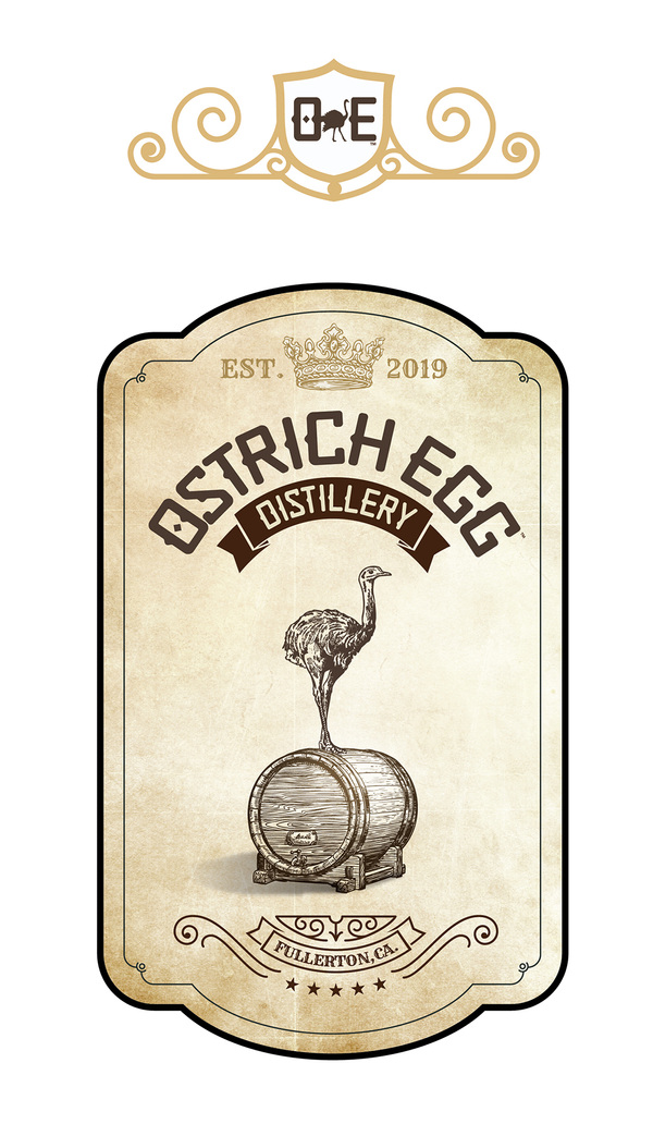 roguehousecreative - Ostrich Egg Distillery_Branding