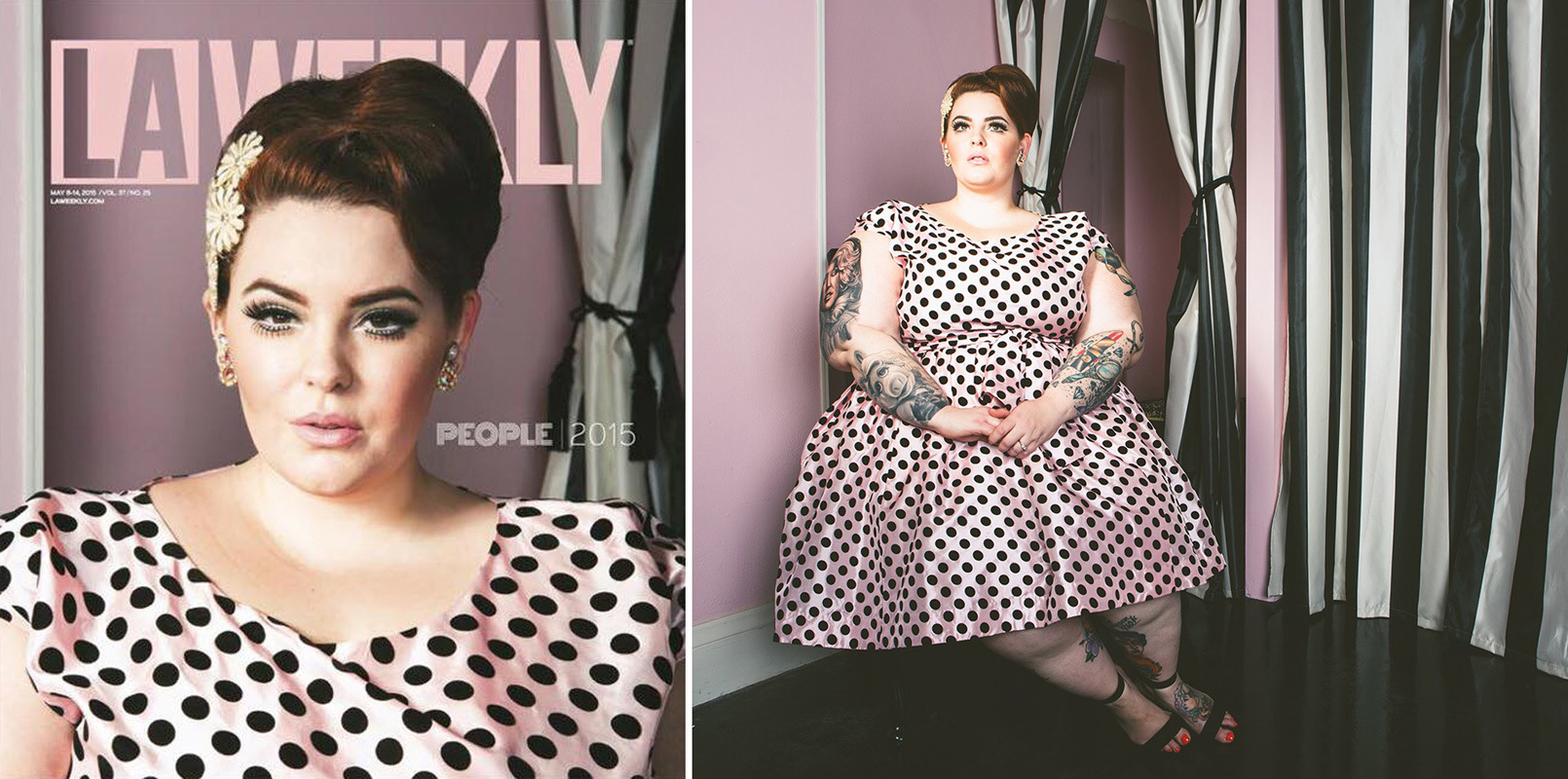 His Vintage Touch - Tess Holliday