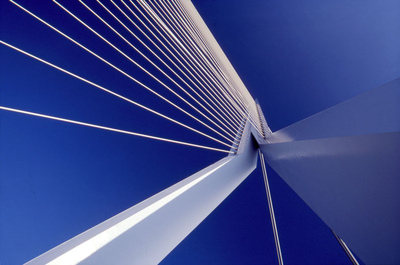 Art Photography - Erasmus Bridge, Rotterdam.