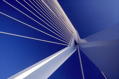 Art Photography - Erasmus Bridge, Rotterdam.