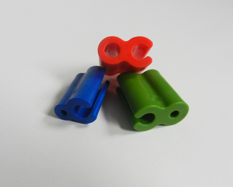 Atticus Anderson Portfolio - Small Blue, Medium Green, and Large Red Grip Clips