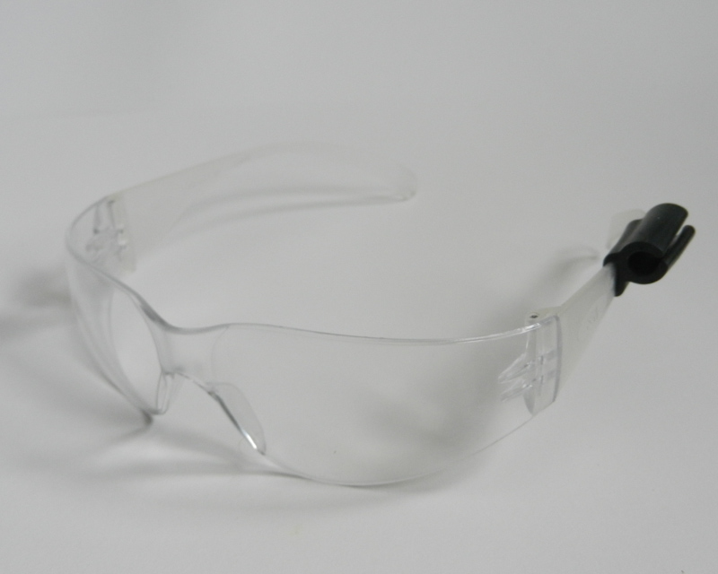 Atticus Anderson Portfolio - Small Black Grip Clip on Safety Glasses