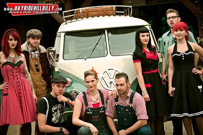 Klaus Biella Retrophoto - Promo-Shooting for Rockabilly Convention