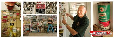 Klaus Biella Retrophoto - Franz at The Busted Knuckle Garage, Bavaria