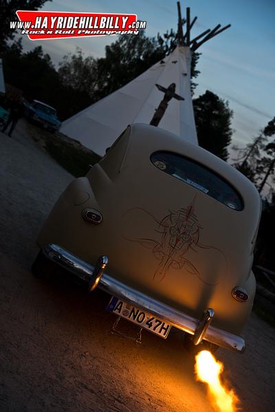 Klaus Biella Retrophoto - Bobby´s Ford, Rockabilly Convention 2013