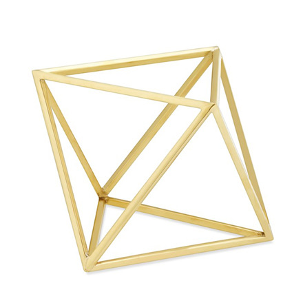 arh creative - Polished Polyhedra Sculpture Client: Williams-Sonoma Home Photo: Courtesy of Williams-Sonoma Home
