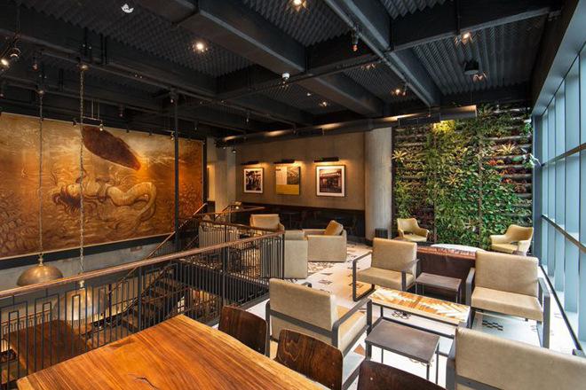 arh creative - Metal Frame & Leather Chair Client: StarbucksPhoto: Courtesy of Starbucks