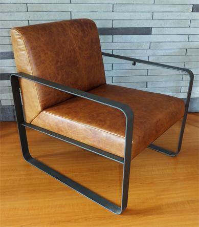 arh creative - Metal Frame & Leather Chair Client: StarbucksPhoto: Courtesy of Acrrin
