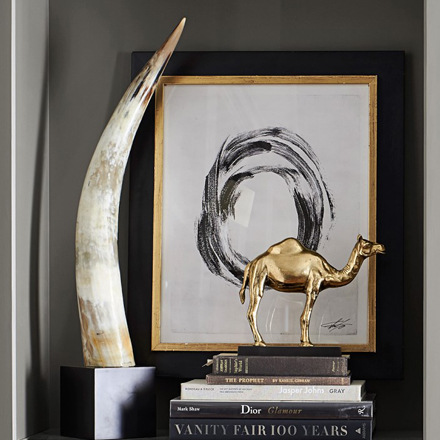 arh creative - Camel Sculpture on Stand Client: Williams-Sonoma Home Photo: Courtesy of Williams-Sonoma Home
