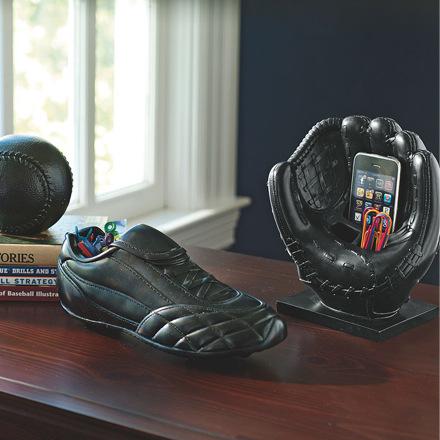 arh creative - Baseball Desk Accessories Client: Pottery Barn Teen Photo: Courtesy of Pottery Barn Teen