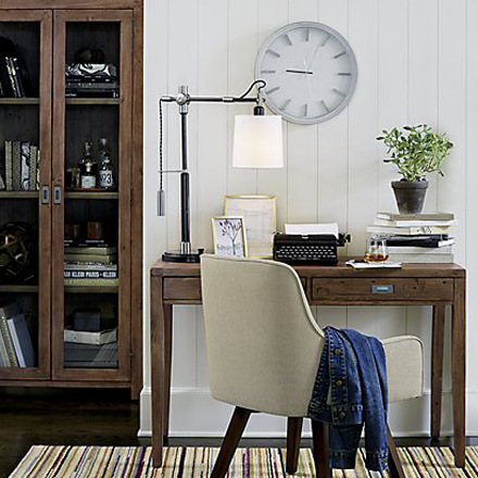arh creative - Sylvester Adjustable Table Lamp Client: Crate & BarrelPhoto: Courtesy of Crate & Barrel
