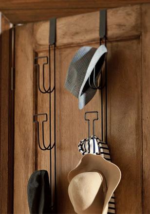 arh creative - Over The Door Hat Rack Decor Client: Pottery Barn Teen Photo: Courtesy of Pottery Barn Teen