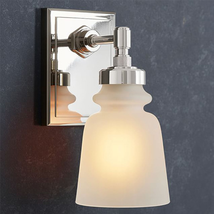 arh creative - Benchwright Single Sconce Client: Pottery BarnPhoto: Courtesy of Pottery Barn