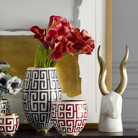 arh creative - Marble and Brass Gazelle Sculpture Client: Williams-Sonoma HomePhoto: Courtesy of Williams-Sonoma Home