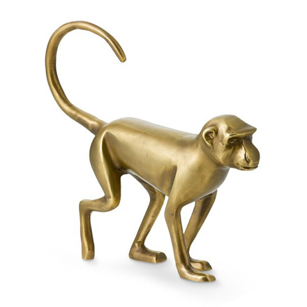 arh creative - Brass Walking Monkey Sculpture Client: Williams-Sonoma HomePhoto: Courtesy of Williams-Sonoma Home