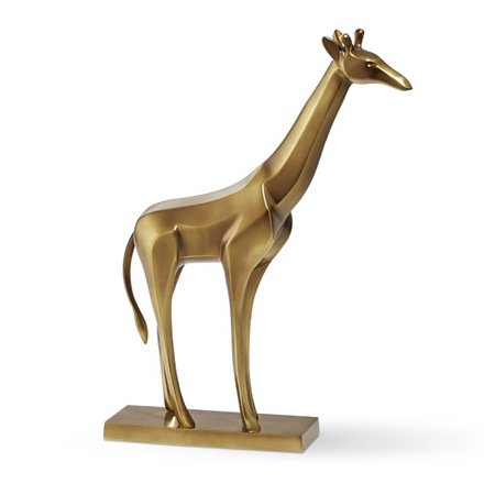 arh creative - Giraffe Sculpture on Stand Client: Williams-Sonoma HomePhoto: Courtesy of Williams-Sonoma Home