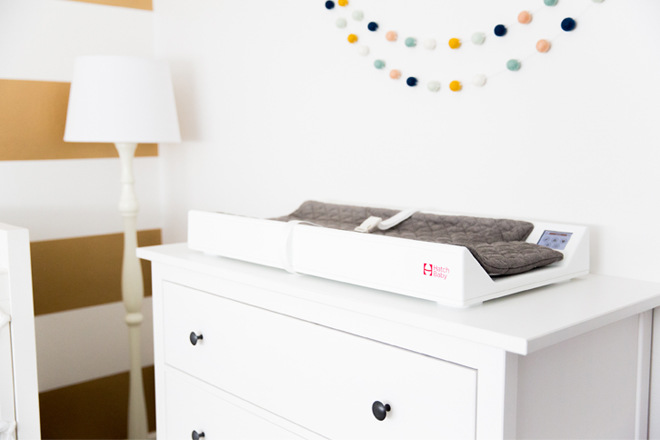 arh creative - Smart Changing Pad Client: Hatch BabyPhoto: Courtesy of Hatch Baby