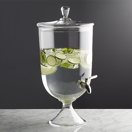 arh creative - Anastasia Drink Dispenser Client: Crate & Barrel Photo: Courtesy of Crate & Barrel