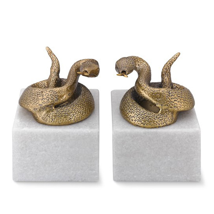 arh creative - Snake Bookends Client: Williams-Sonoma HomePhoto: Courtesy of Williams-Sonoma Home