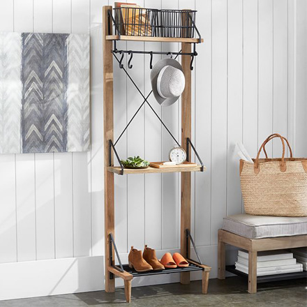 arh creative - Lucy Entry Organizer Client: Pottery BarnPhoto: Courtesy of Pottery Barn