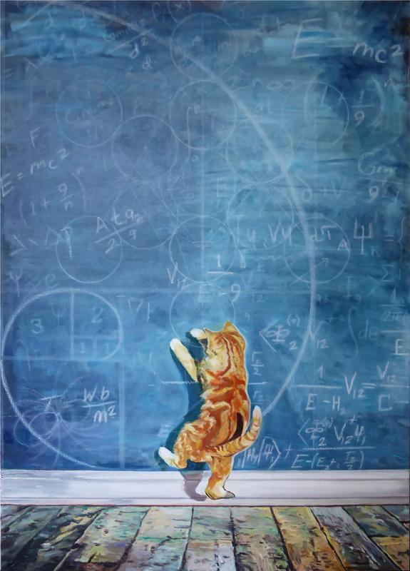 Timothy Adam Matthews - Feline-stein - 50x70cm