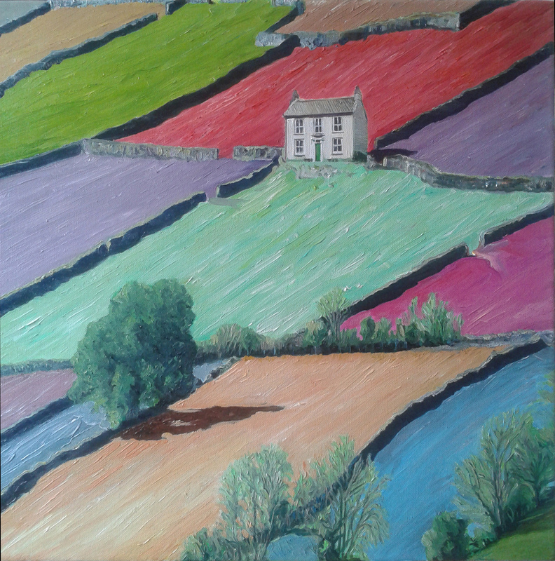Timothy Adam Matthews - Fields Of Joy - 50x50cm