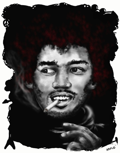 ARMeD ARTs - Jimi Hendrix