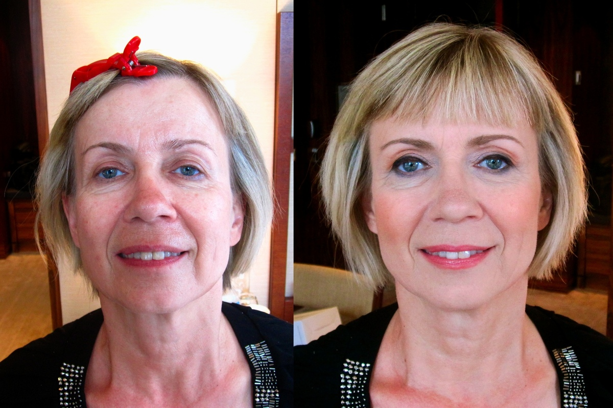 Make Up by ASM - Makeup on Mature skin