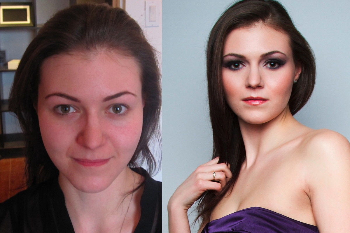 Make Up by ASM - Evening Makeup/After picture professionally edited