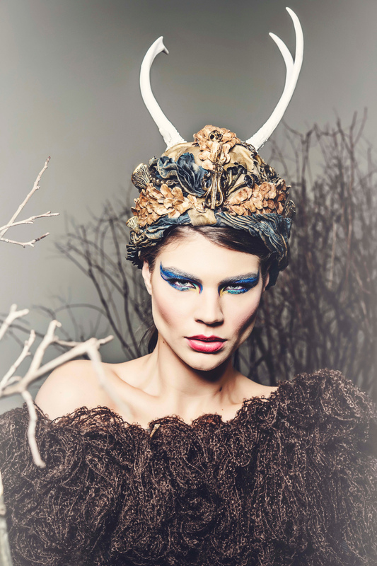 Make Up by ASM - Blur Magazine - Issue 36 © March 2014 Chara Berk Photography