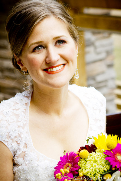 Make Up by ASM - Bright Lip Bridal Makeup